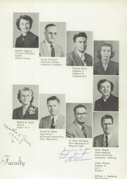 Page 13, 1954 Edition, Spanish Fork High School - Yearbook (Spanish Fork, UT) online yearbook collection