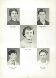 Page 14, 1956 Edition, Spanish Fork High School - Yearbook (Spanish Fork, UT) online yearbook collection