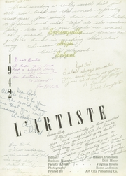 Page 7, 1942 Edition, Springville High School - L Artiste Yearbook (Springville, UT) online yearbook collection