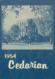 Page 1, 1954 Edition, Cedar City High School - Cedarian Yearbook (Cedar City, UT) online yearbook collection