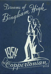 1954 Edition, Bingham High School - Coppertonian Yearbook (Copperton, UT)