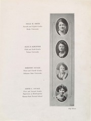Page 12, 1924 Edition, Rowland Hall Saint Mark's - Hallmark / Lantern / Rambler Yearbook (Salt Lake City, UT) online yearbook collection