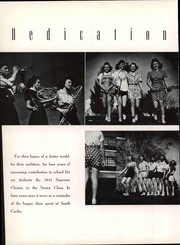 Page 7, 1942 Edition, South Cache High School - Souvenir Clarion Yearbook (Hyrum, UT) online yearbook collection