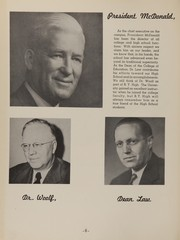 Page 10, 1948 Edition, Brigham Young High School - Wildcat Yearbook (Provo, UT) online yearbook collection
