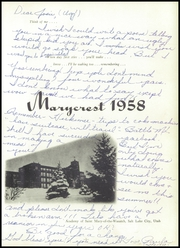 Page 5, 1958 Edition, St Mary of the Wasatch High School - Marycrest Yearbook (Salt Lake City, UT) online yearbook collection