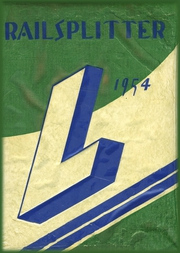 Page 1, 1954 Edition, Lincoln High School - Railsplitter Yearbook (Orem, UT) online yearbook collection