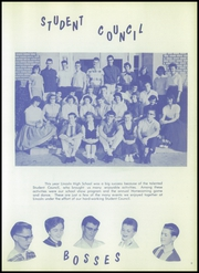 Page 13, 1956 Edition, Lincoln High School - Railsplitter Yearbook (Orem, UT) online yearbook collection