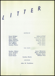 Page 7, 1956 Edition, Lincoln High School - Railsplitter Yearbook (Orem, UT) online yearbook collection