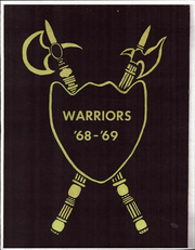 1968 Edition, Cedar Middle School - Warriors Yearbook (Cedar City, UT)