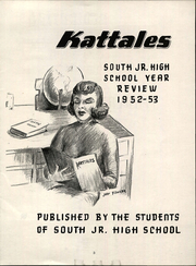 Page 5, 1953 Edition, South Ogden Junior High School - Kat Tales Yearbook (South Ogden, UT) online yearbook collection