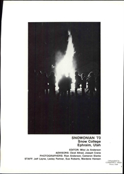 Page 7, 1973 Edition, Snow College - Snowonian Yearbook (Ephraim, UT) online yearbook collection