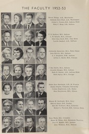 Page 12, 1953 Edition, Central High School - Interlude Yearbook (South Bend, IN) online yearbook collection