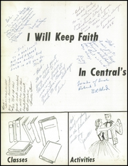 Page 6, 1959 Edition, Central High School - Interlude Yearbook (South Bend, IN) online yearbook collection