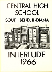 Page 8, 1966 Edition, Central High School - Interlude Yearbook (South Bend, IN) online yearbook collection