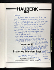 Page 4, 1985 Edition, Shawnee Mission East High School - Hauberk Yearbook (Prairie Village, KS) online yearbook collection