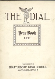 Page 1, 1930 Edition, Brattleboro Union High School - Colonel Yearbook (Brattleboro, VT) online yearbook collection