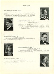 Page 17, 1930 Edition, Brattleboro Union High School - Colonel Yearbook (Brattleboro, VT) online yearbook collection