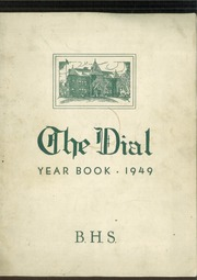 1949 Edition, Brattleboro Union High School - Colonel Yearbook (Brattleboro, VT)