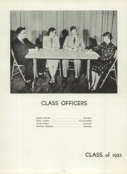 Page 11, 1953 Edition, Brattleboro Union High School - Colonel Yearbook (Brattleboro, VT) online yearbook collection