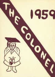 1959 Edition, Brattleboro Union High School - Colonel Yearbook (Brattleboro, VT)