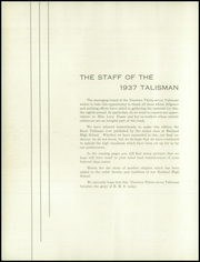 Page 14, 1937 Edition, Rutland High School - Talisman Yearbook (Rutland, VT) online yearbook collection