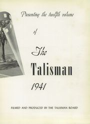 Page 7, 1941 Edition, Rutland High School - Talisman Yearbook (Rutland, VT) online yearbook collection