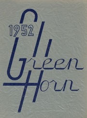 Page 1, 1952 Edition, Springfield High School - Green Horn Yearbook (Springfield, VT) online yearbook collection