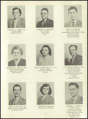 Page 13, 1952 Edition, Springfield High School - Green Horn Yearbook (Springfield, VT) online yearbook collection
