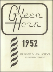 Page 7, 1952 Edition, Springfield High School - Green Horn Yearbook (Springfield, VT) online yearbook collection