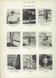 Page 10, 1957 Edition, St Johnsbury Academy - Lamp Yearbook (St Johnsbury, VT) online yearbook collection
