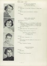 Page 15, 1957 Edition, St Johnsbury Academy - Lamp Yearbook (St Johnsbury, VT) online yearbook collection
