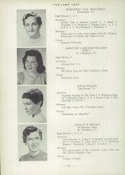 Page 36, 1957 Edition, St Johnsbury Academy - Lamp Yearbook (St Johnsbury, VT) online yearbook collection