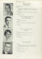 Page 37, 1957 Edition, St Johnsbury Academy - Lamp Yearbook (St Johnsbury, VT) online yearbook collection