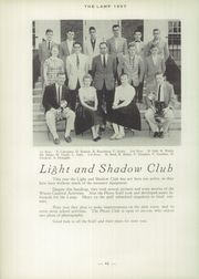 Page 50, 1957 Edition, St Johnsbury Academy - Lamp Yearbook (St Johnsbury, VT) online yearbook collection