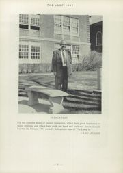 Page 7, 1957 Edition, St Johnsbury Academy - Lamp Yearbook (St Johnsbury, VT) online yearbook collection