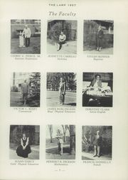 Page 9, 1957 Edition, St Johnsbury Academy - Lamp Yearbook (St Johnsbury, VT) online yearbook collection