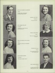 Page 15, 1949 Edition, Middlebury Union High School - Quatrain Yearbook (Middlebury, VT) online yearbook collection