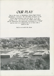 Page 7, 1980 Edition, Middlebury Union High School - Quatrain Yearbook (Middlebury, VT) online yearbook collection