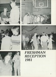 Page 11, 1982 Edition, Middlebury Union High School - Quatrain Yearbook (Middlebury, VT) online yearbook collection