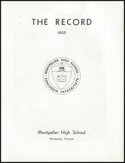 Page 5, 1955 Edition, Montpelier High School - Record Yearbook (Montpelier, VT) online yearbook collection