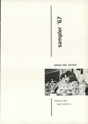 Page 5, 1967 Edition, Bellows Falls High School - Sampler Yearbook (Bellows Falls, VT) online yearbook collection