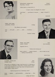 Lyndon Institute - Cynosure Yearbook (Lyndon Center, VT) online yearbook collection, 1956 Edition, Page 23