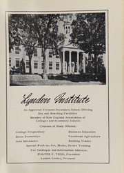 Page 95, 1956 Edition, Lyndon Institute - Cynosure Yearbook (Lyndon Center, VT) online yearbook collection