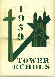 1959 Edition, Rice Memorial High School - Tower Echoes Yearbook (South Burlington, VT)