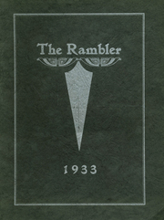 1933 Edition, Northfield High School - Rambler Yearbook (Northfield, VT)
