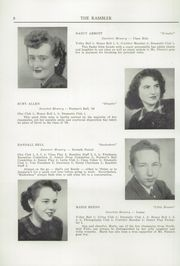 Page 10, 1950 Edition, Northfield High School - Rambler Yearbook (Northfield, VT) online yearbook collection