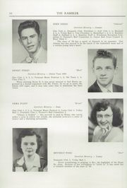 Page 12, 1950 Edition, Northfield High School - Rambler Yearbook (Northfield, VT) online yearbook collection
