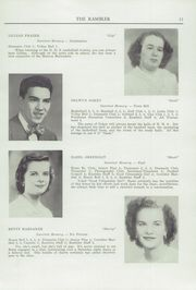 Page 13, 1950 Edition, Northfield High School - Rambler Yearbook (Northfield, VT) online yearbook collection