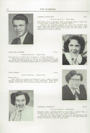 Page 16, 1950 Edition, Northfield High School - Rambler Yearbook (Northfield, VT) online yearbook collection