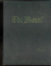 1948 Edition, Mount Saint Joseph Academy - Mount Yearbook (Rutland, VT)